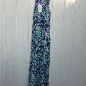 Robert Graham krista maxi dress size 2